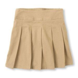 The Children's Place Girls Uniform Pleated Skort